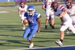 JV White football falls to Magnolia West 30-8