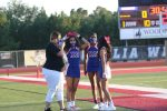 Wildcat Cheerleaders perform at Magnolia West game