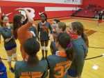 Bonham 7th Grade Volleyball takes two at South Belton