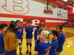 Bonham 8th Grade Volleyball sweeps South Belton