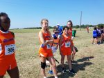 Bonham Girls Cross Country results from the McGregor Invitational