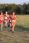 Bonham Girls 8th Grade Cross Country at the District Meet