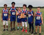Bonham boys 7th grade cross country earns district title