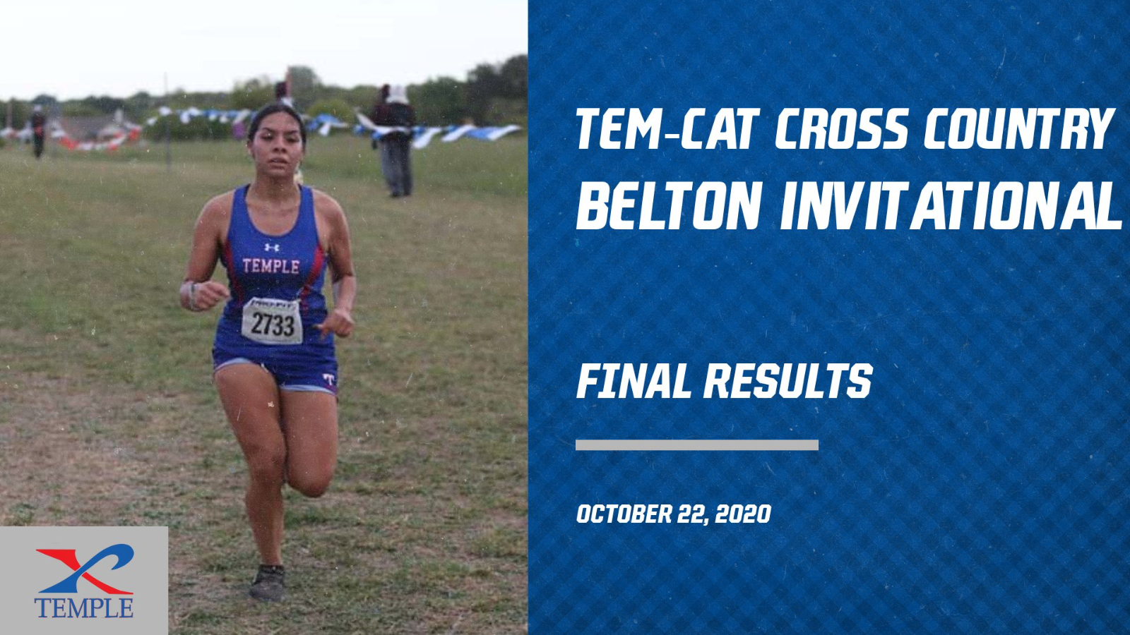 Tem-Cat Cross Country takes 3rd at the Belton Invitational