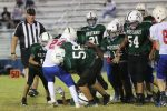 Travis 7th grade football results with Midway Red