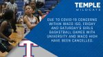Tem-Cat basketball season openers postponed