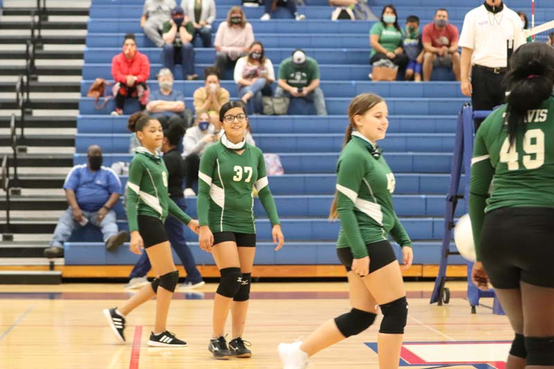 Travis 7th Grade A Volleyball vs. Lamar