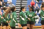 Travis 7th grade volleyball splits with Lamar