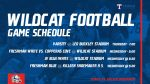 Wildcat Football schedule of games vs. Killeen Shoemaker