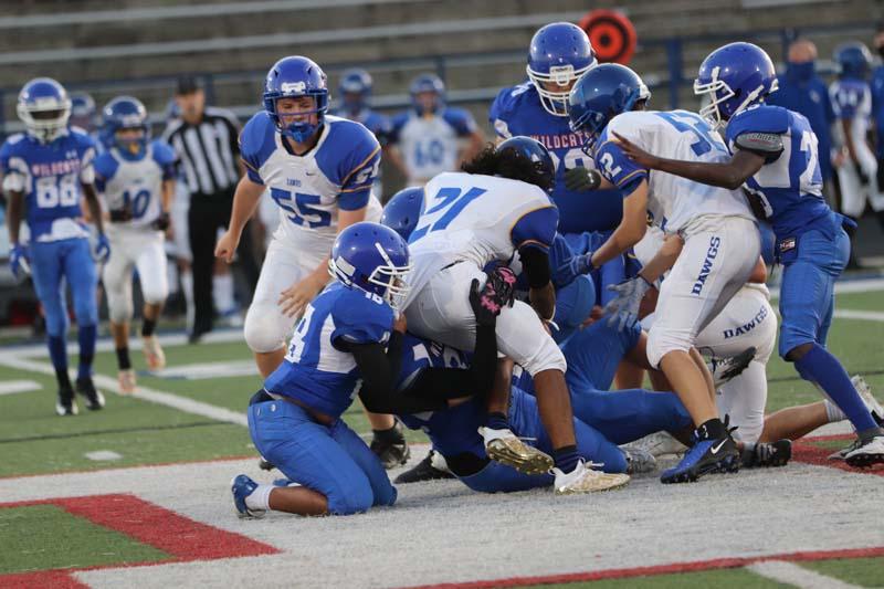 Freshman White Football vs. Copperas Cove – 1st Half