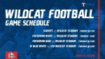 Wildcat Football schedule of games with Killeen