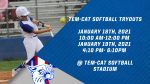 Tem-Cat Softball tryouts set for January 18th