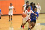 Bonham girls 7th grade A basketball tops Carver 41-6