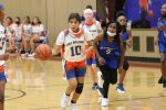Bonham girls 8th grade A basketball defeats Carver 36-4