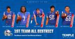 Five Wildcats earn 1st Team All District Offensive Team recognition