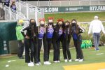THS Cheerleaders at the Rockwall Heath game