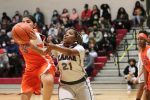 Lamar girls 7th grade basketball results vs. Bonham