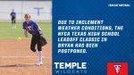 Tem-Cat softball season opening tournament postponed