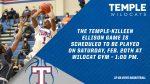 Temple – Killeen Ellison boys basketball set for Saturday