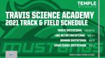 2021 Travis Science Academy Track & Field Schedule
