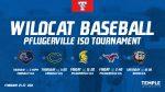 Wildcat Baseball set to start season on Thursday in the Pflugerville ISD Tournament
