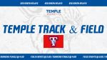 Temple varsity track teams compete in Big Green Relays on Thursday