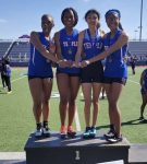 JV Girls take first at Midway Relays