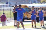 Bonham Boys 7th & 8th grade track at the Bonham Invitational - Field Events