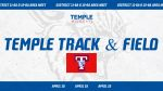 Temple track set to compete in the Area Met on Thursday