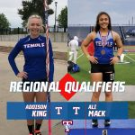 King and Mack advance to Regional Meet