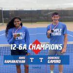 Gamino, Ramanathan win 12-6A singles titles