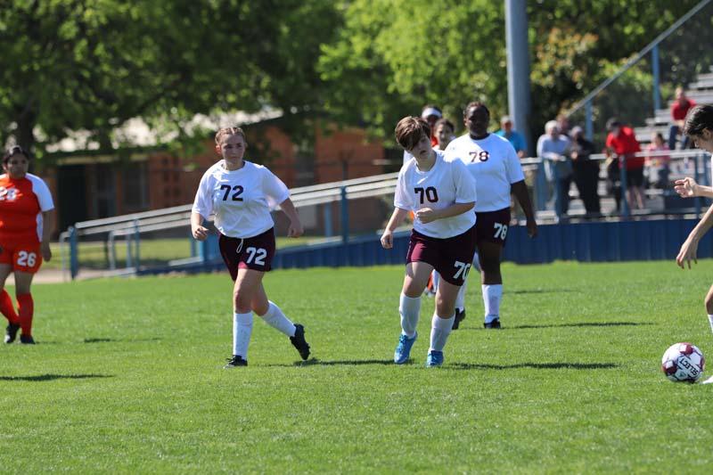 Lamar Girls Soccer vs. Bonham