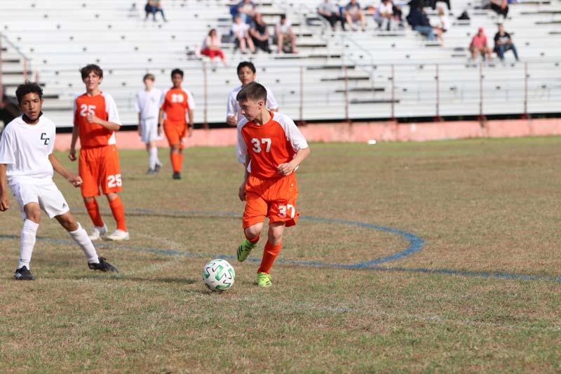 Bonham Boys 7th Grade Soccer vs. SC Lee
