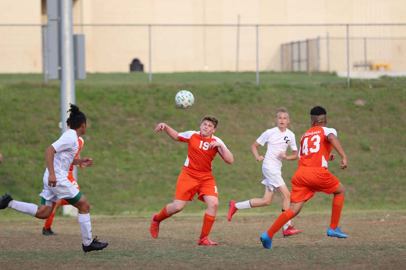 Bonham Boys 8th Grade Soccer vs. SC Lee