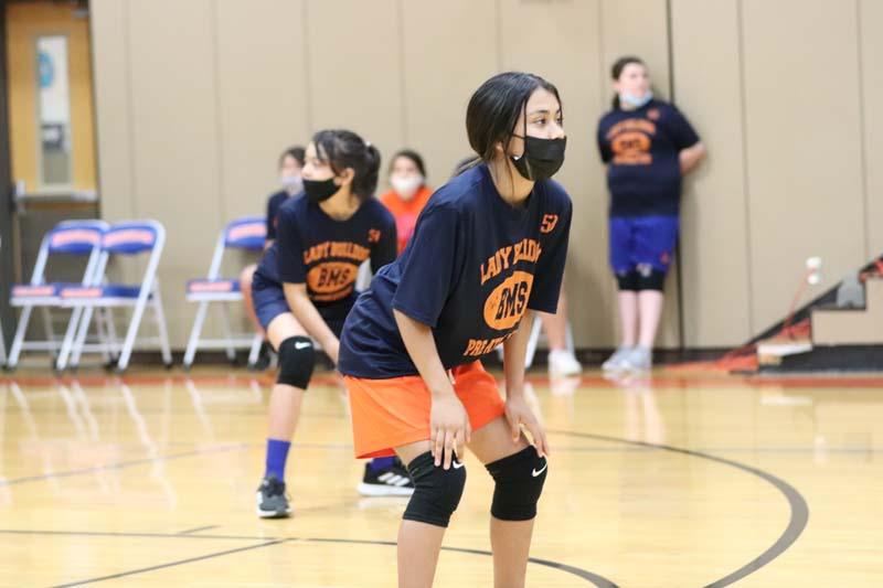 Bonham Girls Pre-Athletics Volleyball Scrimmage