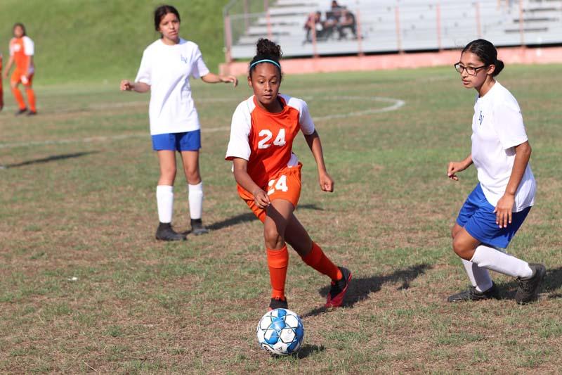 Bonham Girls Soccer vs. La Vega