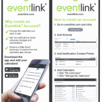 Schedule Changes/Updates – Eventlink App Information