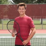 Boys Tennis Edged Out by WeBo 3-2