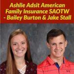 Adsit American Family Insurance SAOTW – Bailey Burton & Jake Stall