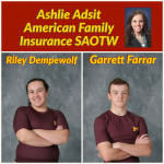 Adsit American Family Insurance SAOTW – Riley Demepwolf & Garrett Farrar