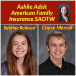 Adsit American Family Insurance SAOTW – Sabrina Robison & Chase Merrell