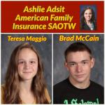 Ashlie Adsit American Family Insurance SAOTW – Teresa Maggio & Brad McCain