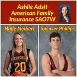 Ashlie Adsit American Family Insurance SAOTW – Halle Neibert & Spencer Phillips