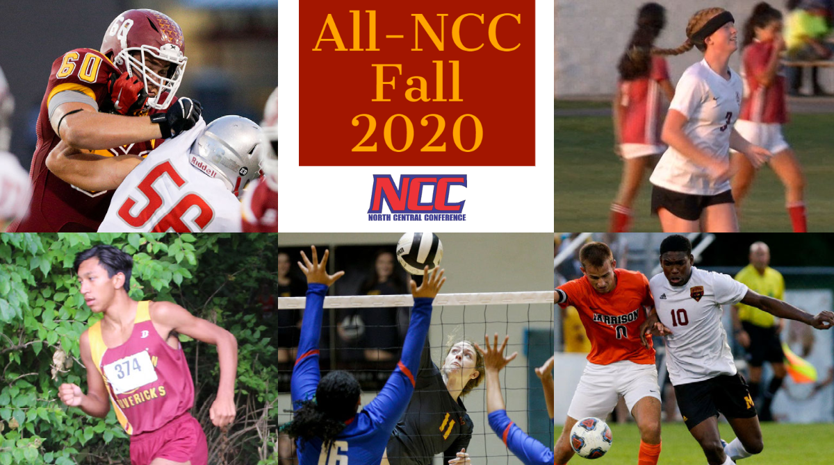 2020 Fall Sports All-NCC Athletes
