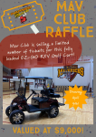 Mav Club: Golf Cart Raffle!
