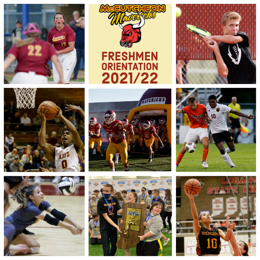2021/22 – Freshmen Athletic Orientation Information
