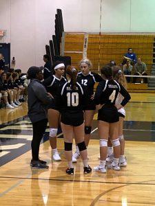 JV Volleyball at Trinity Invitational