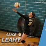 Grace Leahy Named Athlete of the Week