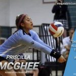 Priscilla McGhee Named Athlete of the Week