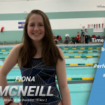 Fiona McNeill Named Athlete of the Week for the Week of October 28-Nov. 2